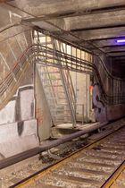 Notausgang im U6-Tunnel