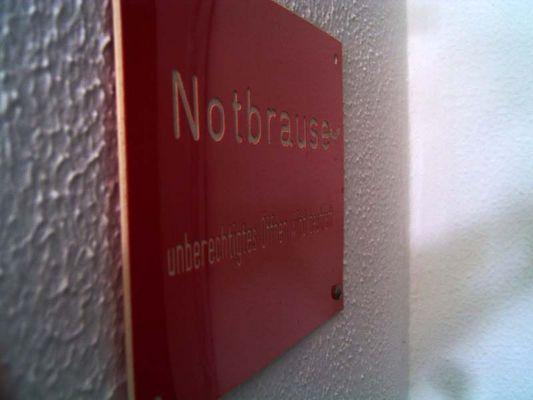 Notbrause
