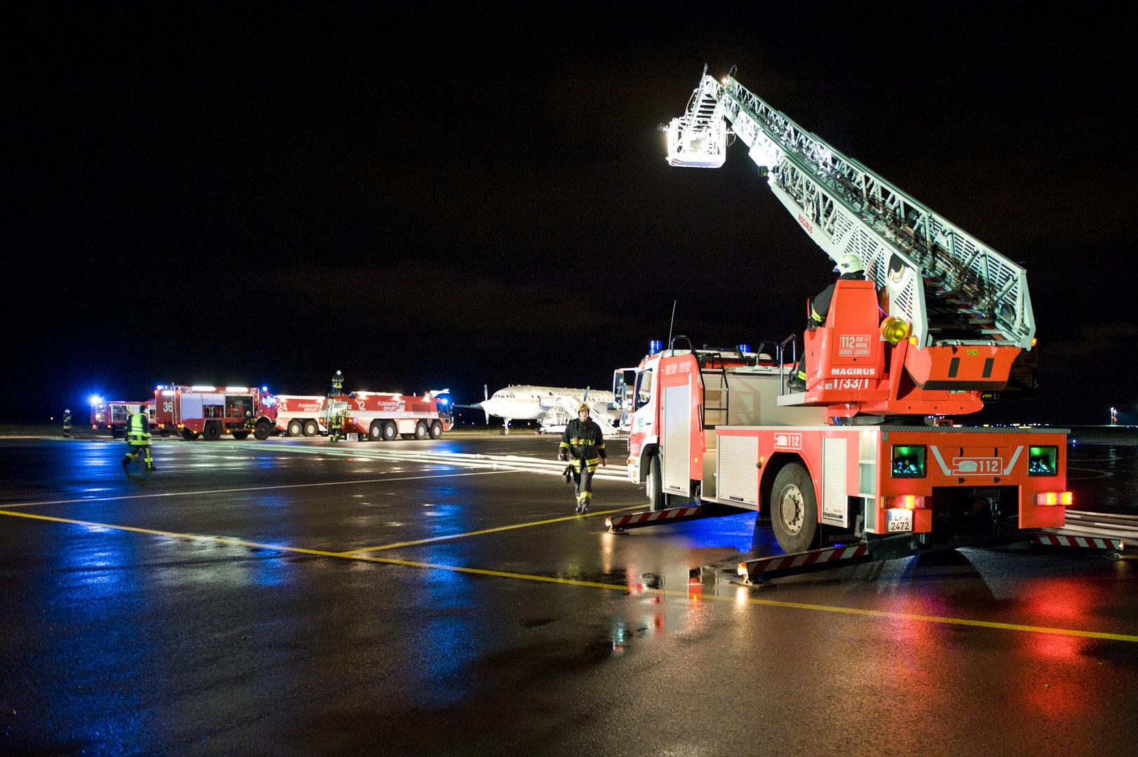 Notfallübung Flughafen Erfurt   1