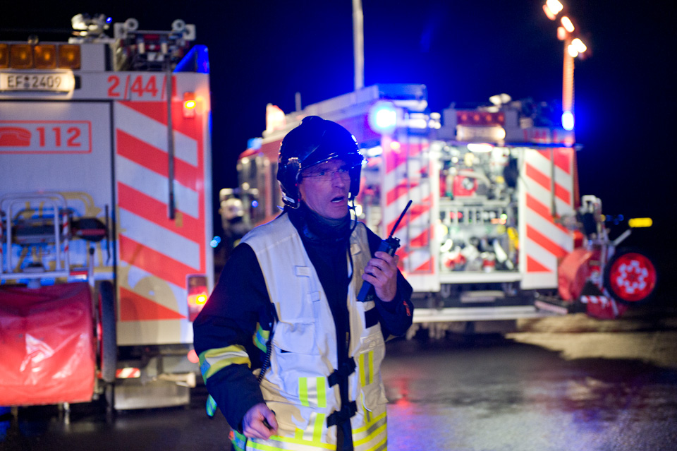 Notfallübung Flughafen Erfurt   5