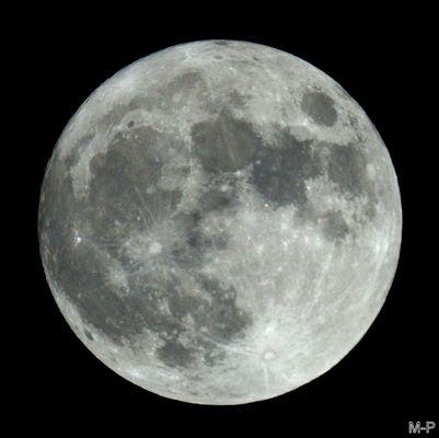 Notre belle pleine lune
