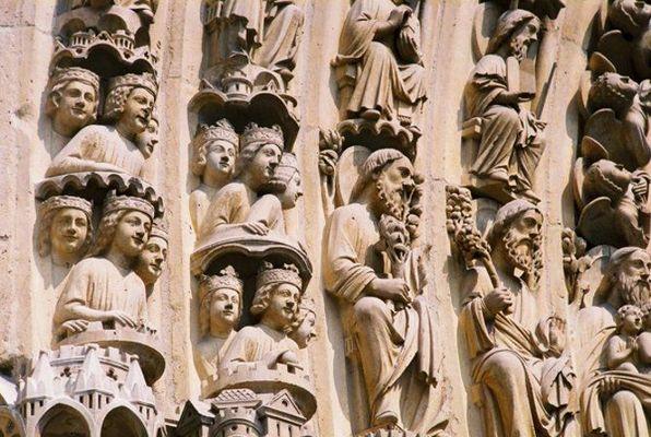 Notre Dame de Paris, rechtes Portal