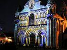 Notre dame de Poitiers illuminée