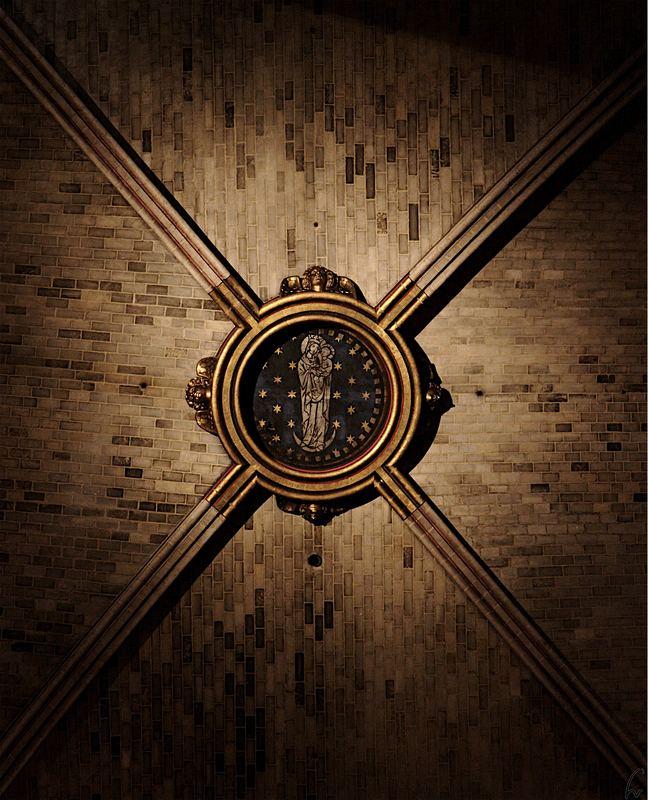 Notre Dame - Decke