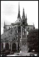 Notre Dame in Paris, Rückansicht