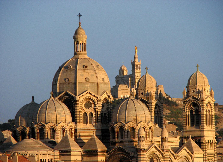 Notre Dame & La Major de Marseille