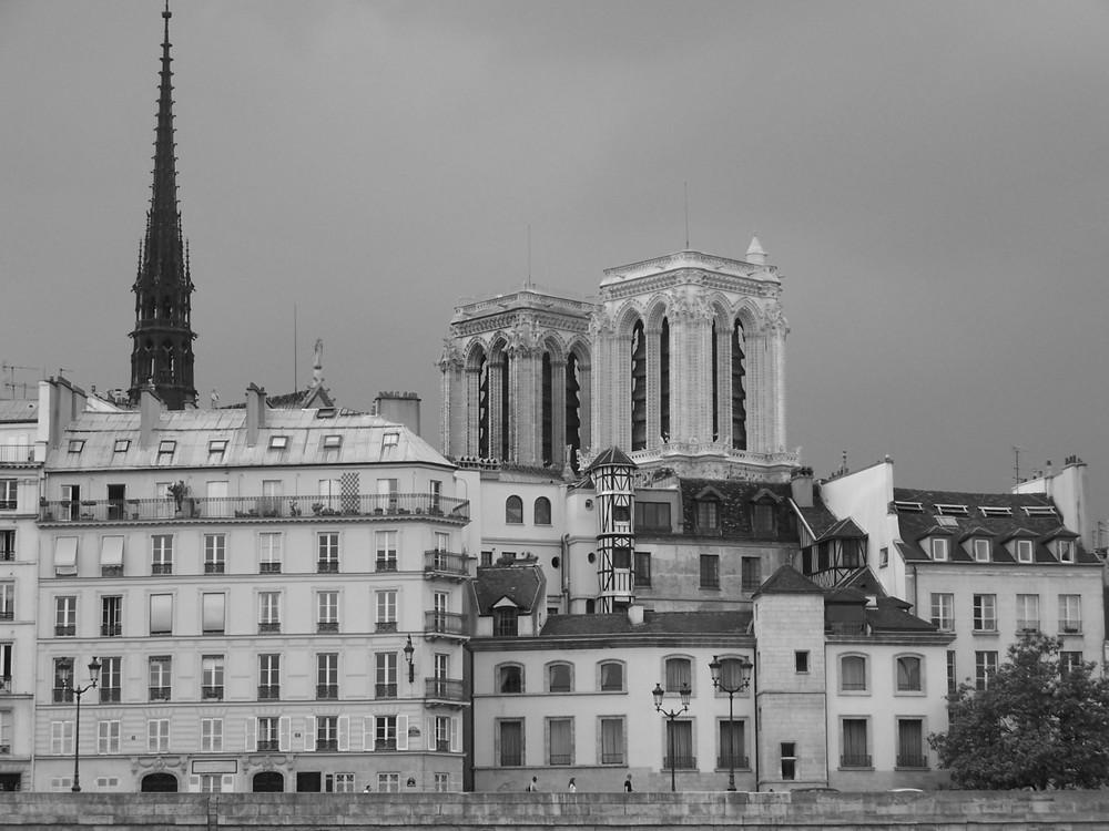Notre Dame vu depuis la Seine