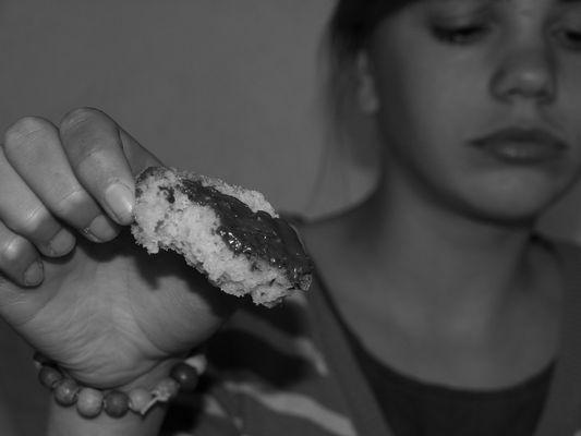 Notre pain quotidien, avec du chocolat .