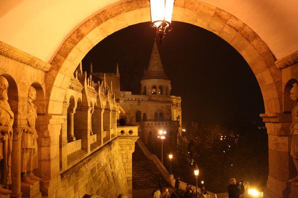 Notte a Budapest