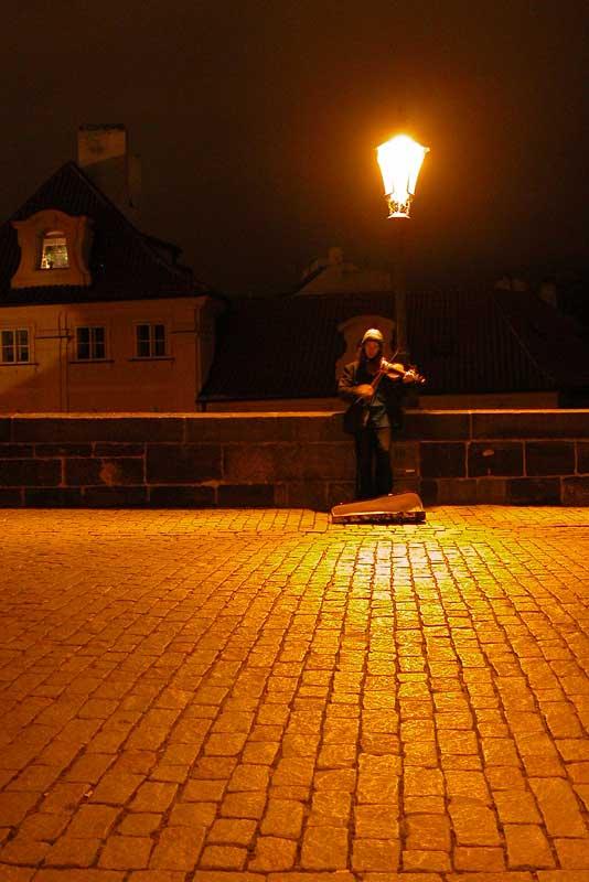 Notte a Praga