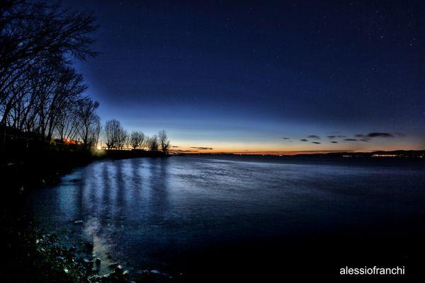 notte al lago