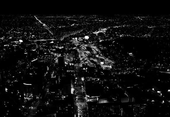 Notte bianco nera