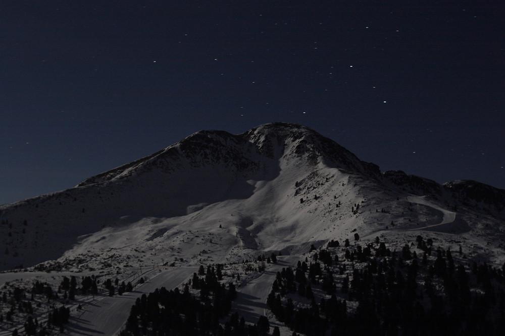 Notturno in montagna.....