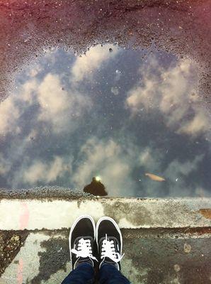 Nous sommes tous à un pied du ciel .