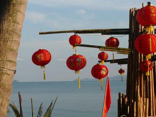 nouvel an chinois à Koh Samui Mae nam