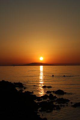 "Novalja - Croatia Sonnenuntergang am Beach ""Babe"""