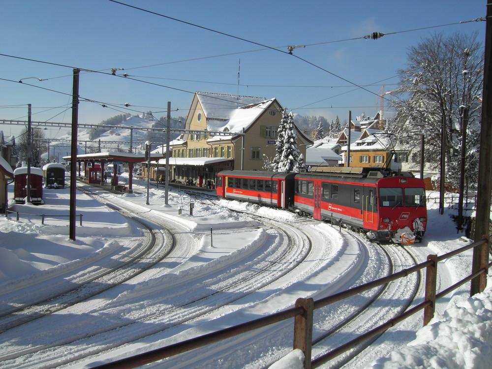November 2007, erster Schnee