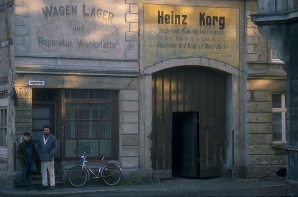 November 88 in Stralsund (ein Jahr vor der Wende)