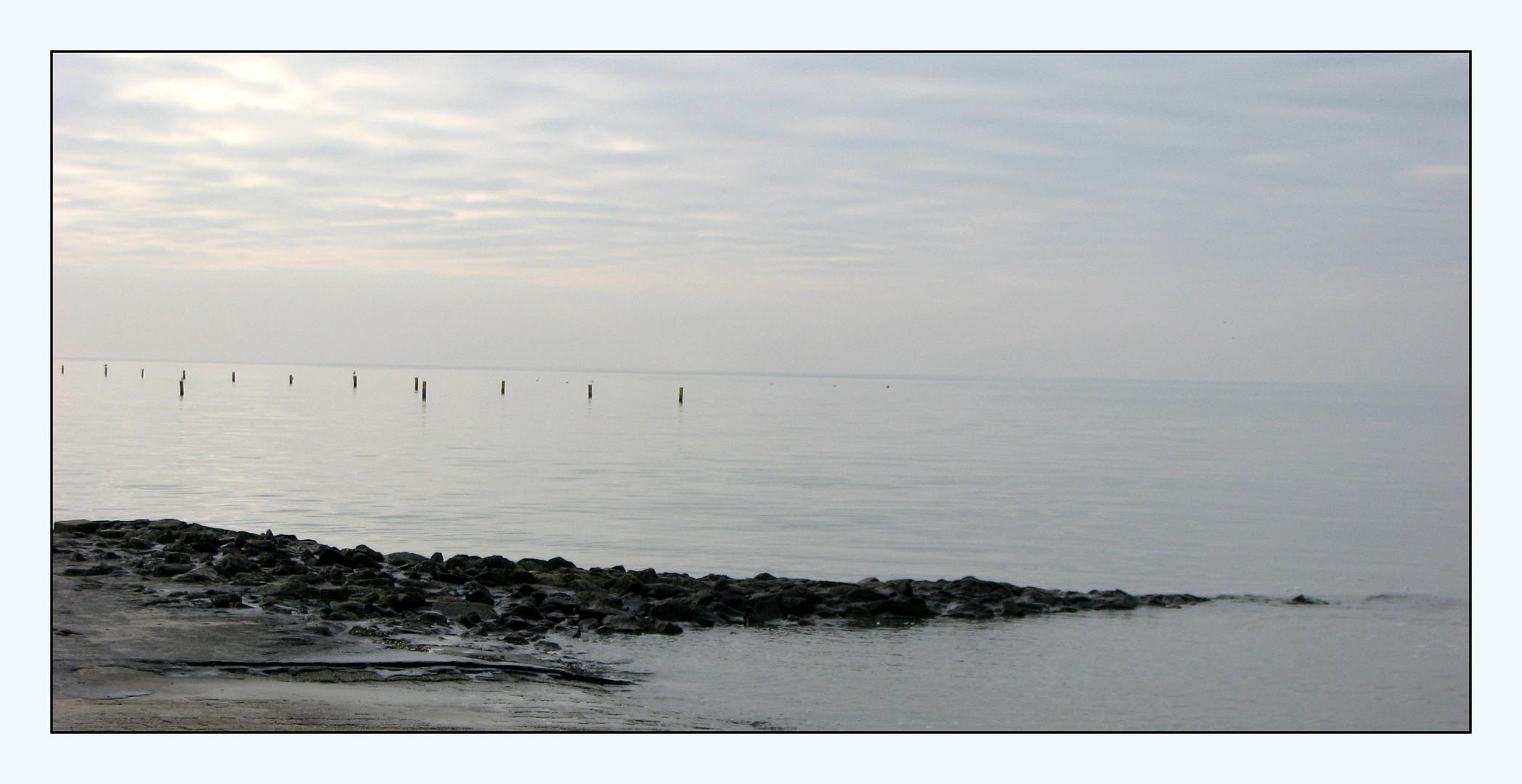 November am Meer