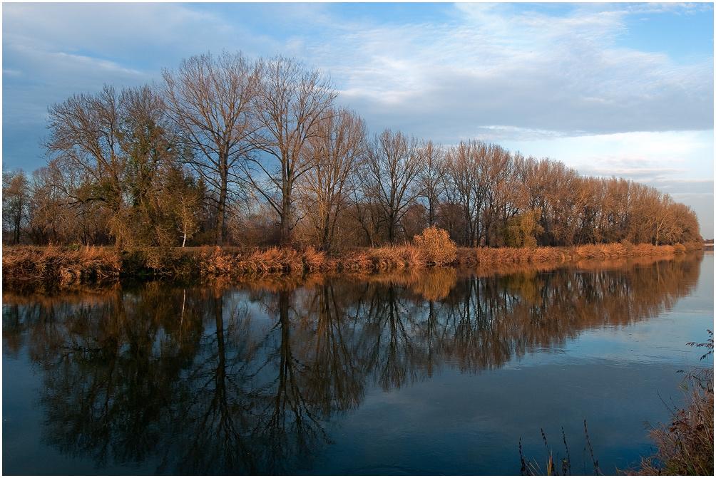 November an der Donau