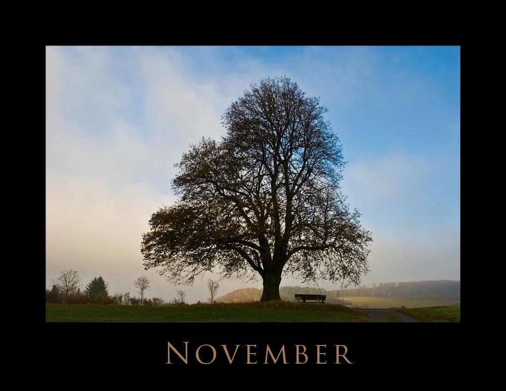 November in Franken