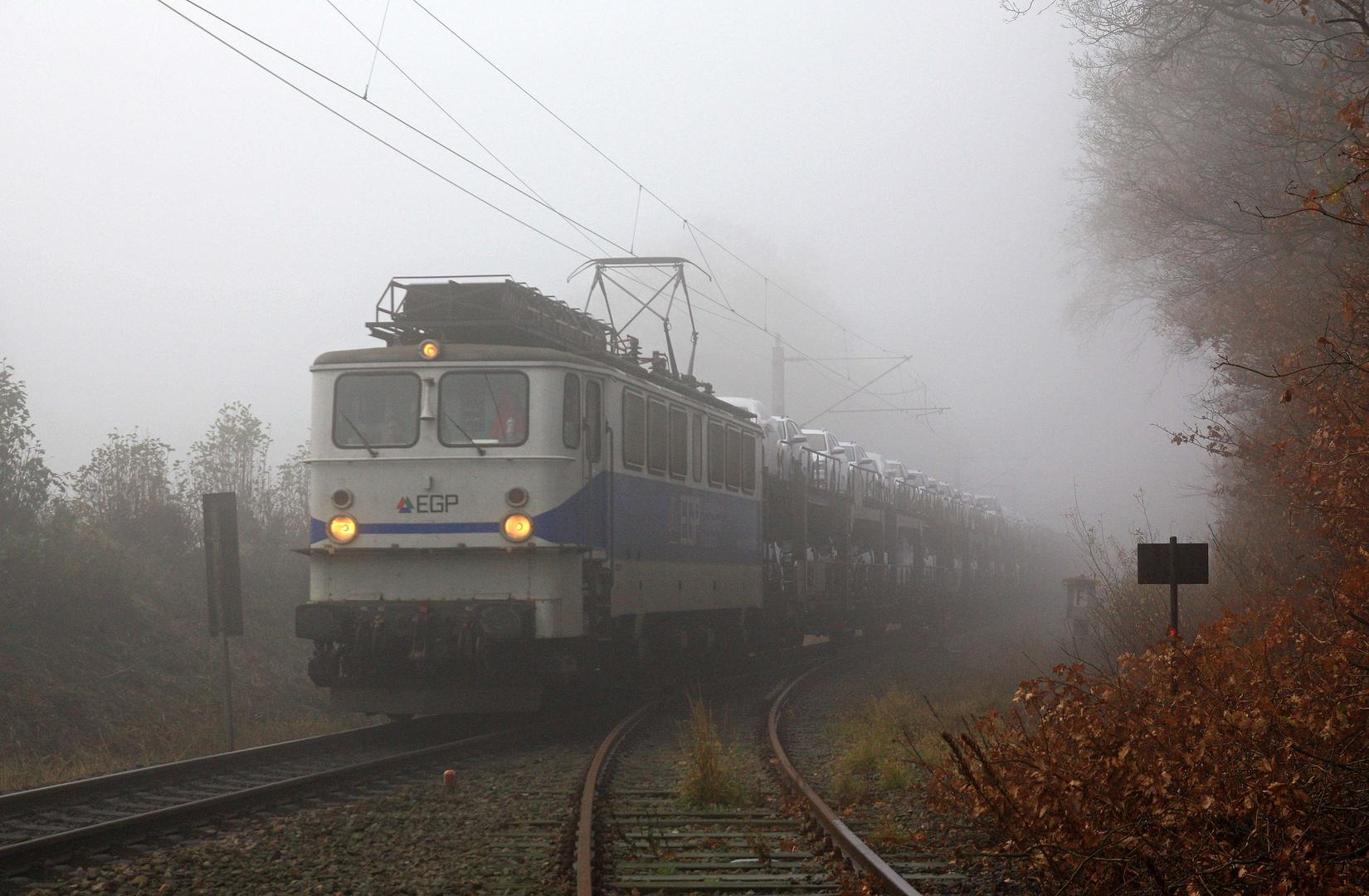 November ist Nebelzeit