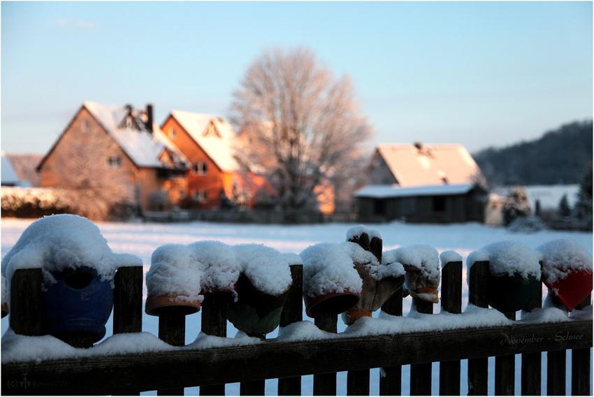 November Schnee