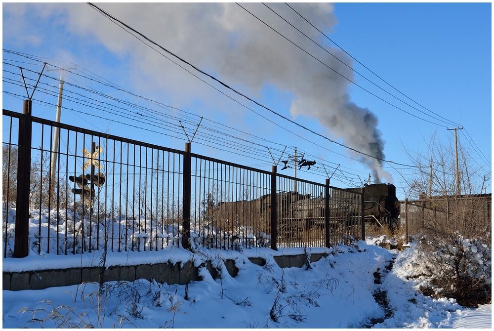 Novemberdampf in Nordchina - Dampf hinter Stacheldraht - Fulaerji I