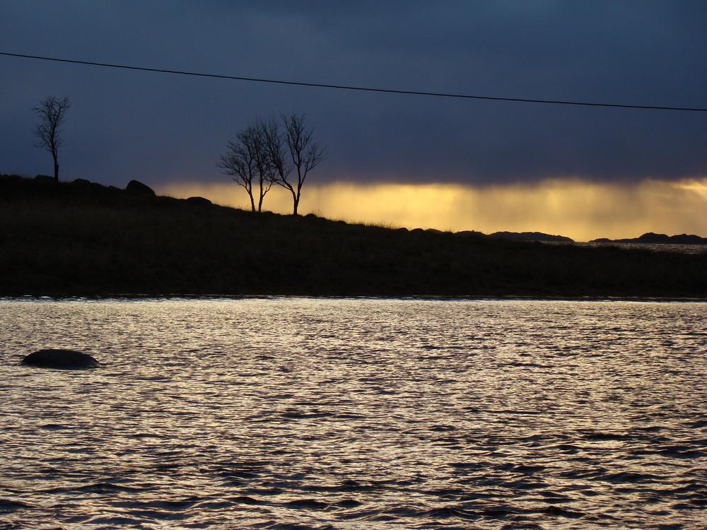 Novemberlicht am Vestfjorden
