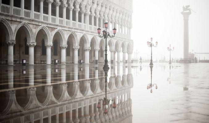 Novembermorgen in Venedig