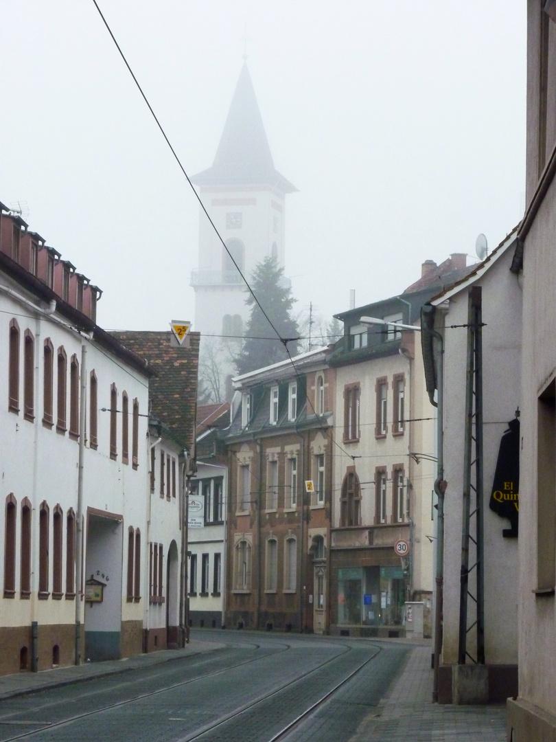 Novembernebel in Eberstadt