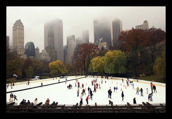Novemberstimmung im Central Park