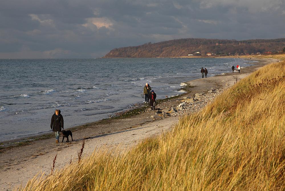 Novembertag am Meer
