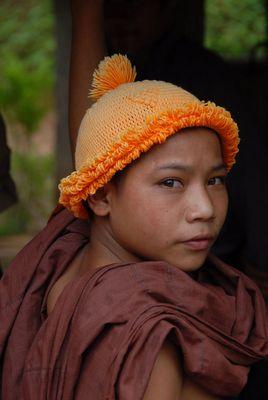 Novize im Norden von Laos nahe bei Ban Nawaii