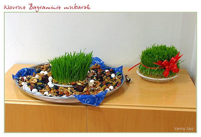 Novruz present for outside friends