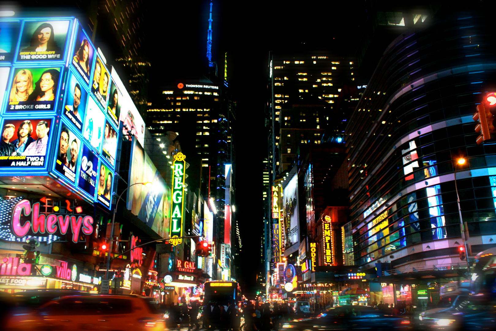 Now you`re in New York