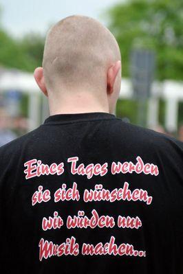 NPD Kundgebung in Göttingen
