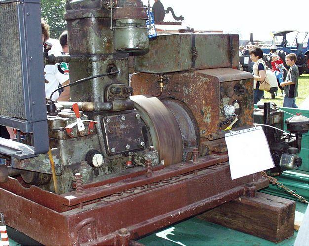 Nr. 5: Stationärmotor von Junkers ...