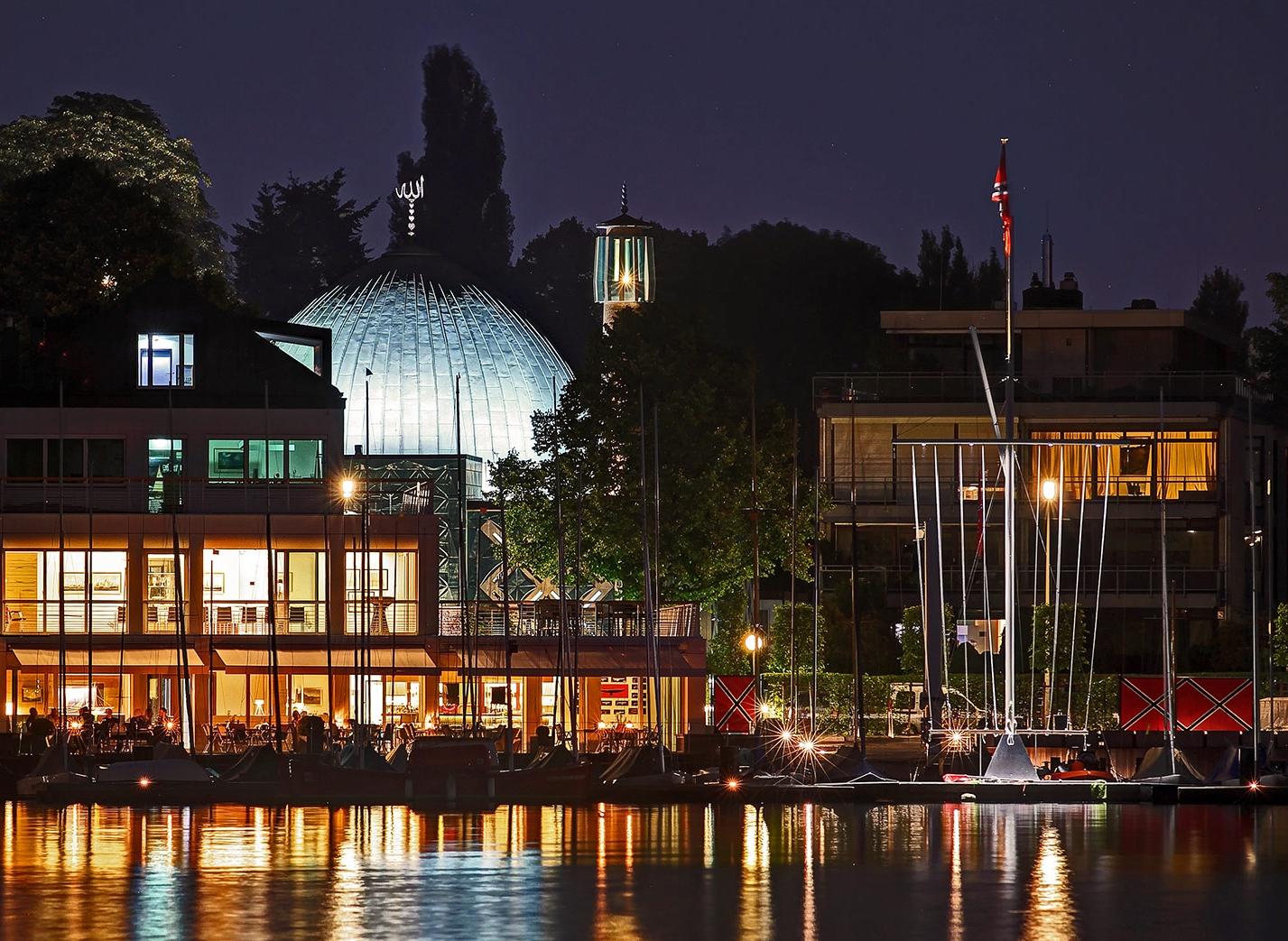 NRV-Clubhaus an der Alster in Hamburg