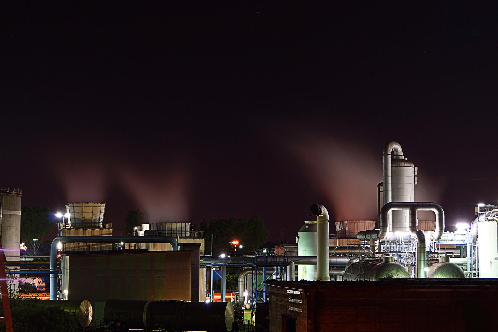 NRW bei Nacht