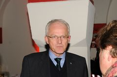 NRW-Ministerpräsident Dr. Jürgen Rüttgers - Richtfest am Dortmunder U