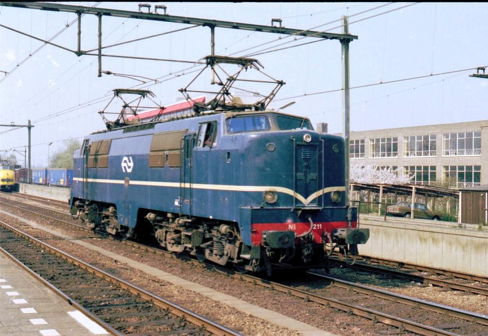 NS 1211 Rotterdam CS 1974