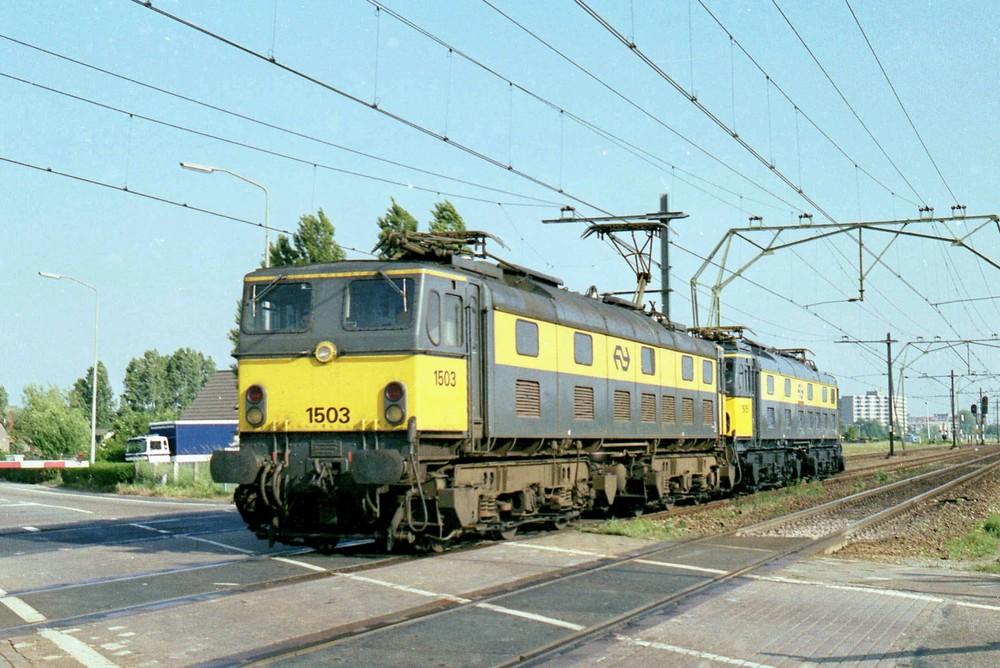 NS 1503 en 1505  laatst dag BARENDRECHT 14 juni 1986