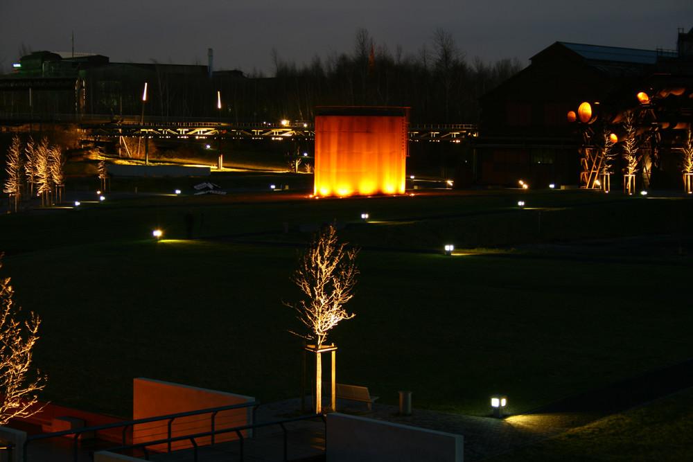 Nu isses dunkel in Bochum und die Lämpleins gehen an!