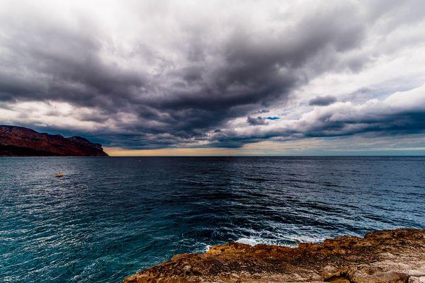 nuage et mer