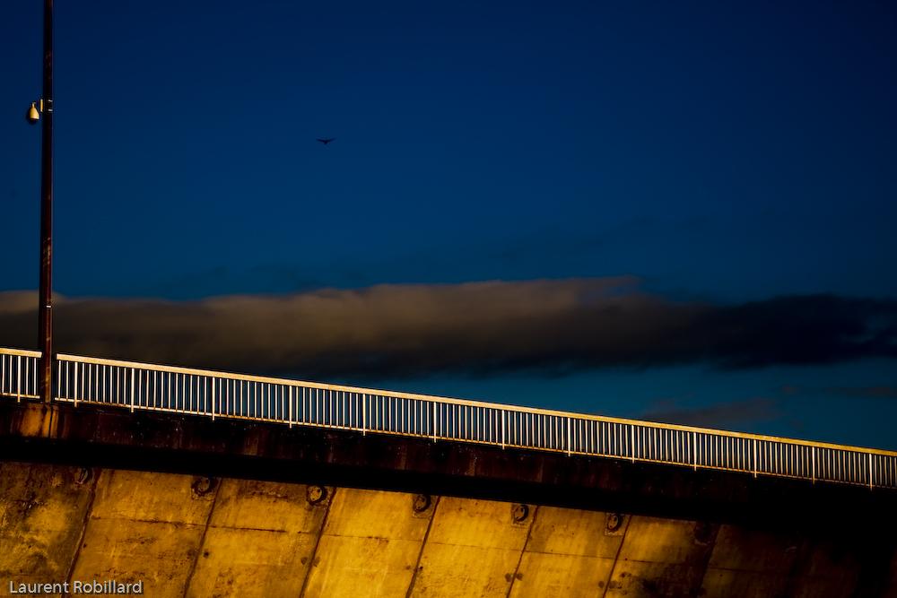 nuage et pont