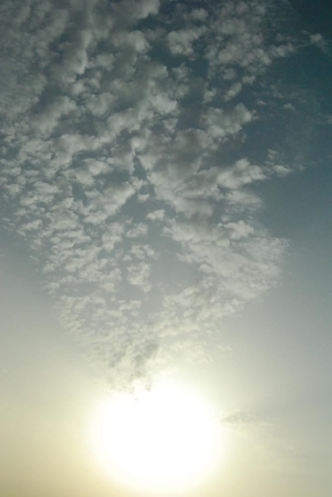 nuage vers le soleil