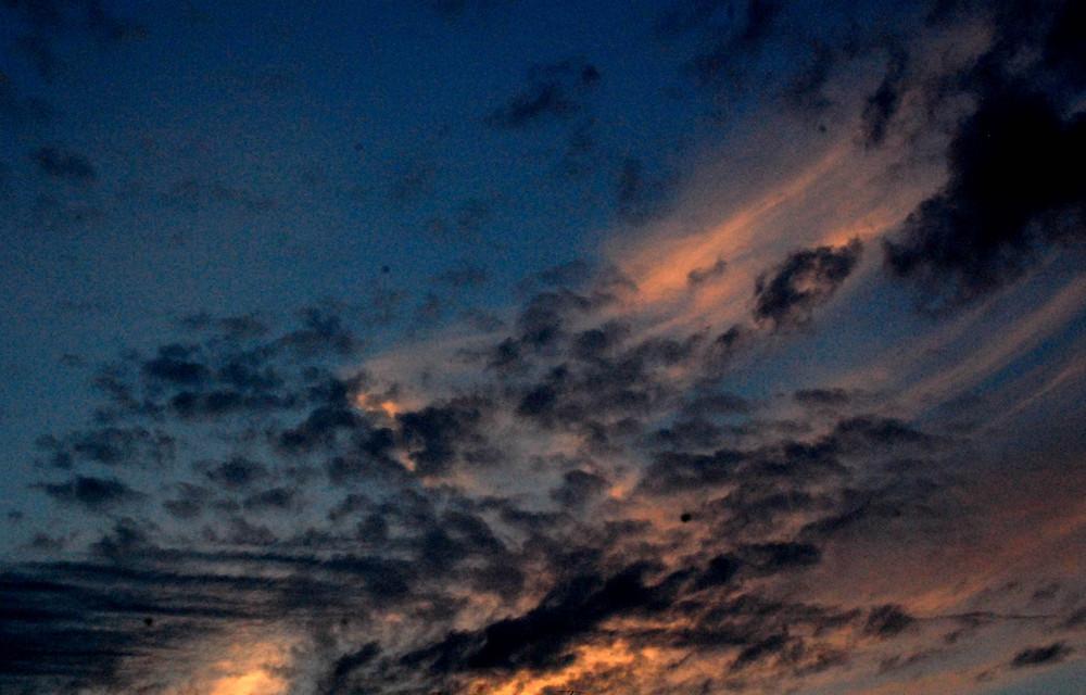 nuages et couleurs