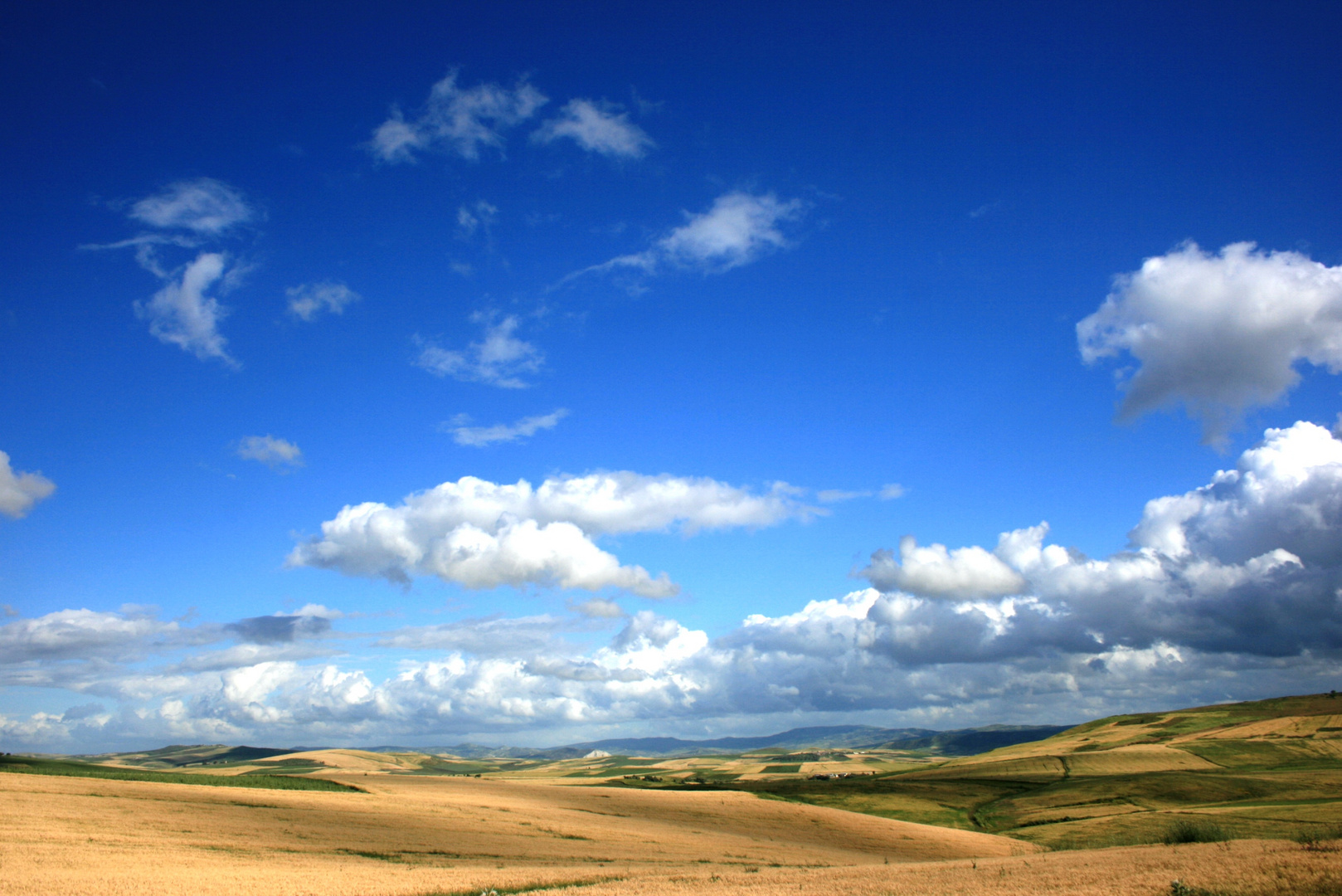 nuages et jeux de lumiere