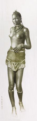 Nuba girl - sudan